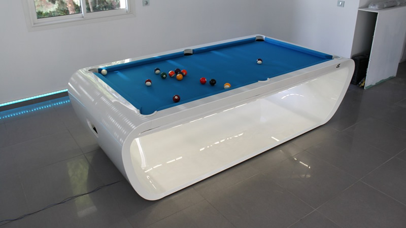 Black Light Luxury Pool Table Luxury Pool Tables Hamilton - Luxury billiards table