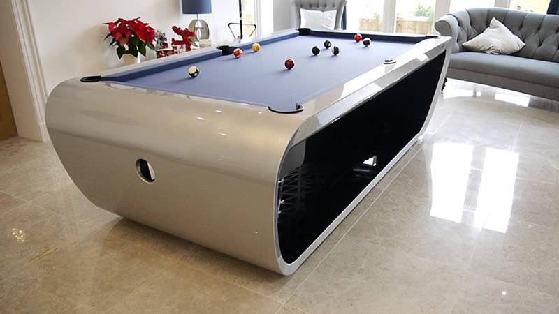 Black Light Luxury Pool Table Luxury Pool Tables