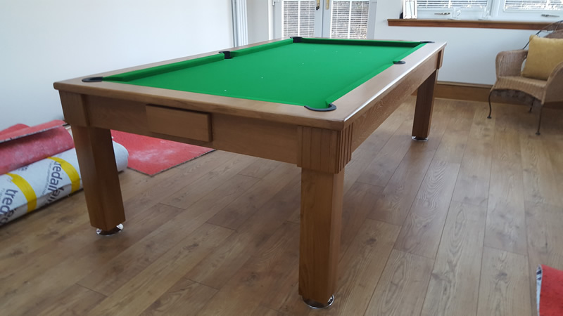 Cool Loren Solid Timber Diner Polished Hardwood Pool Tables Beutiful Home Inspiration Xortanetmahrainfo