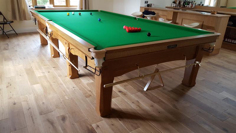 Refurbished Snooker Tables