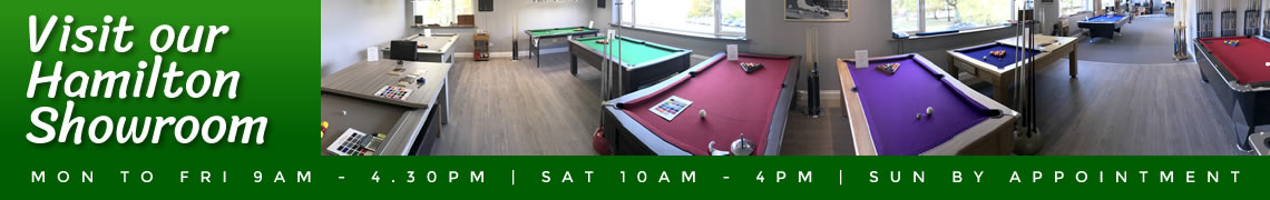 Pool Table Showroom